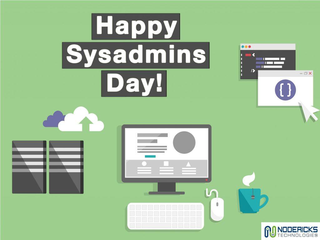 happy sysadmins day nodericks